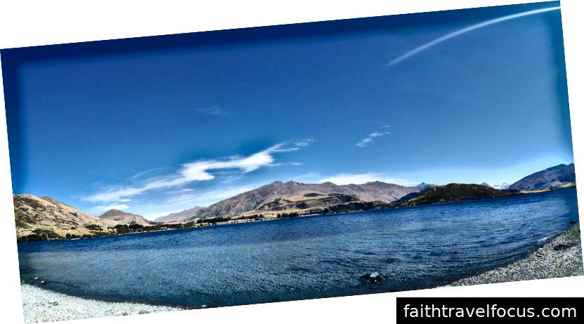 Toàn cảnh hồ Wanaka