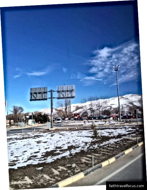 Con đường từ Denizli đến Antalya