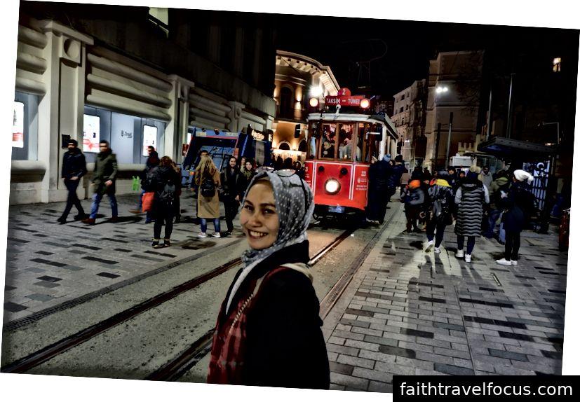 Quảng trường Taksim và khu vực Istiklal