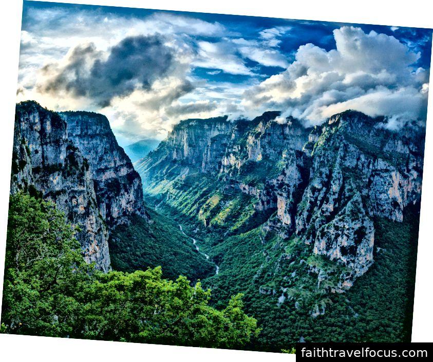 Hẻm núi Vikos, Zagorochoria, Bắc Hy Lạp