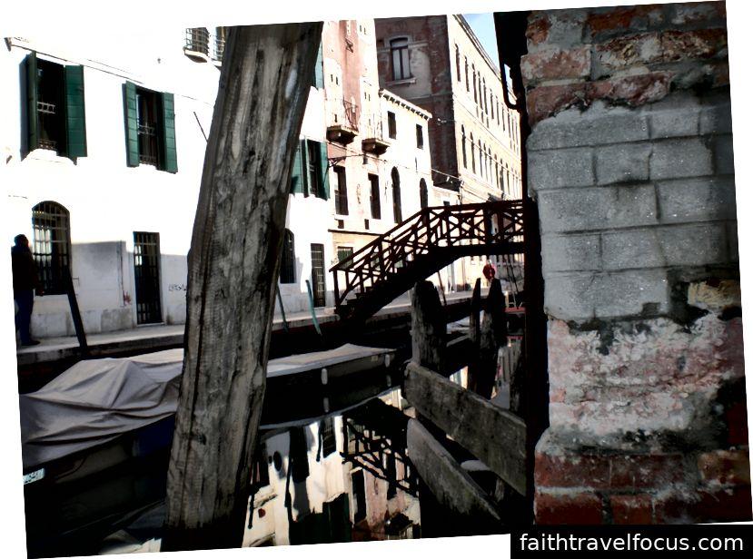 Quang cảnh từ cuối đường phố my my my ở Dorsoduro