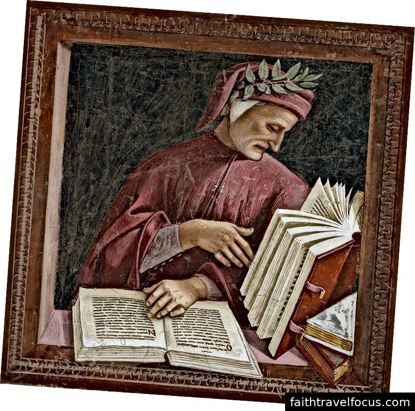 Một chi tiết từ Luca Signorelli từ bích họa trong Nhà nguyện San Brizio trong Nhà thờ Orvieto. Hình ảnh lịch sự WikiMedia và Georges Jansoone.