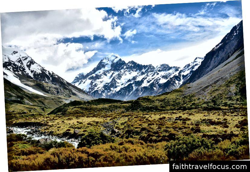 Aoraki / Mount Cook - Khung cảnh từ mọi góc độ chỉ đơn giản là đẹp.