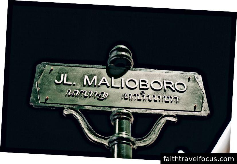 Phố Malioboro nổi tiếng.