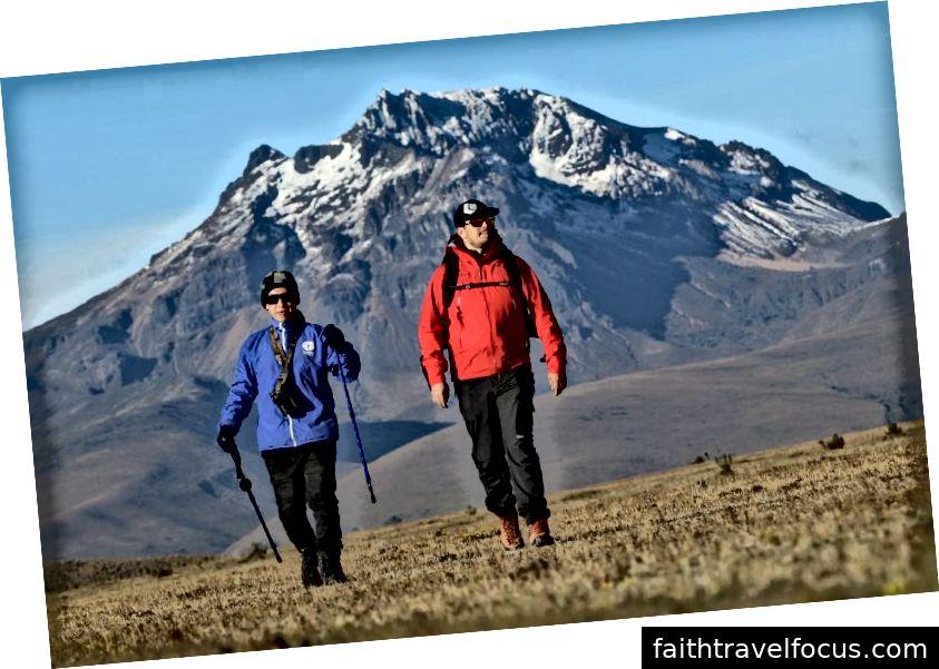 Đi bộ ở Ecuador