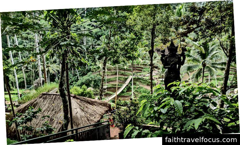 Đu quay Bali - Ubud