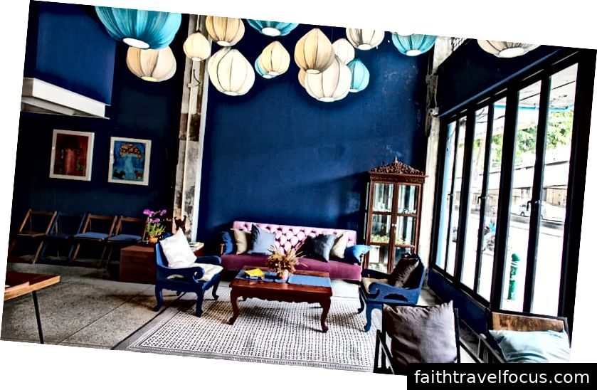 Yim Yam Hostel & Garden lounge