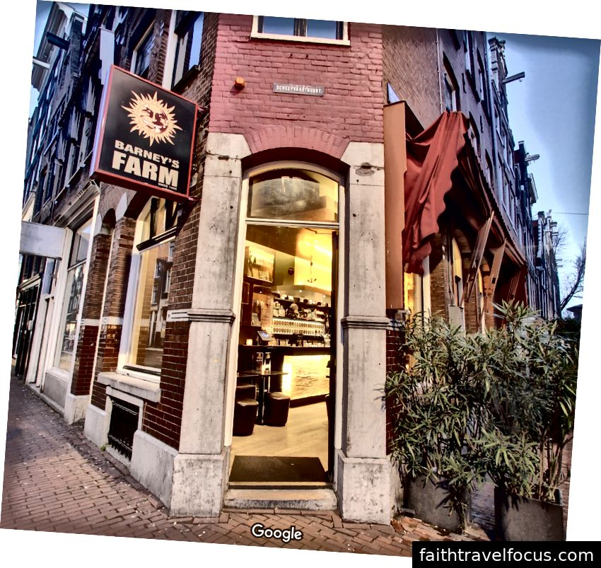 Barney's Coffeeshop - Photo de Google Street View