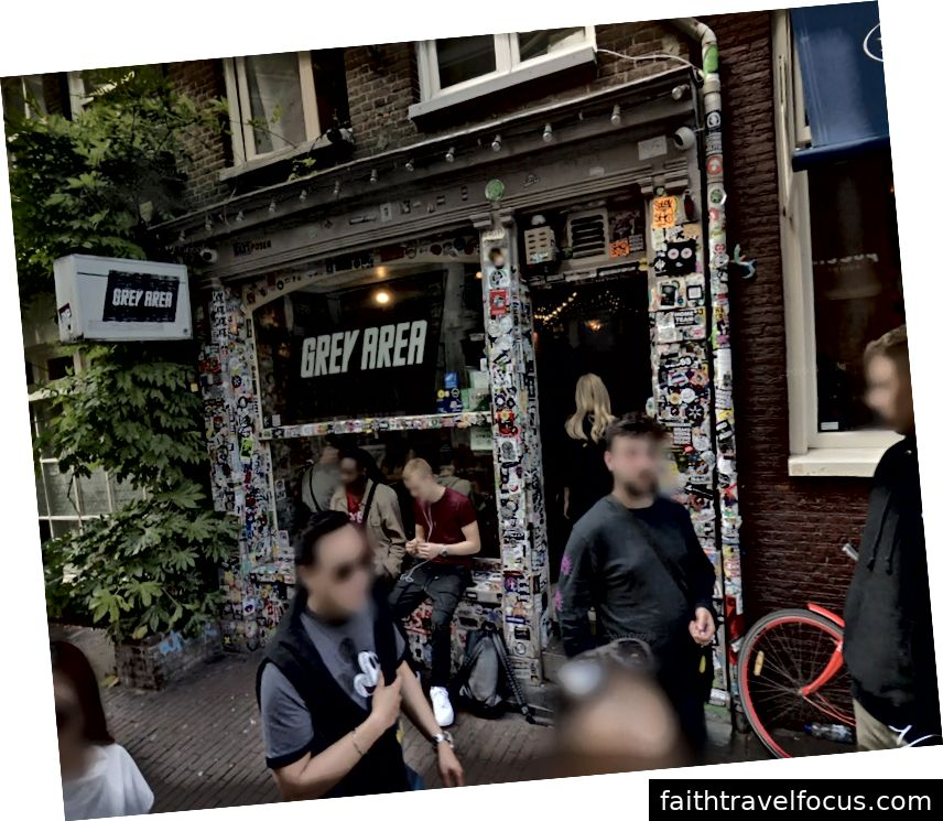 Grey Area Coffeeshop - Photo depuis Google Street View