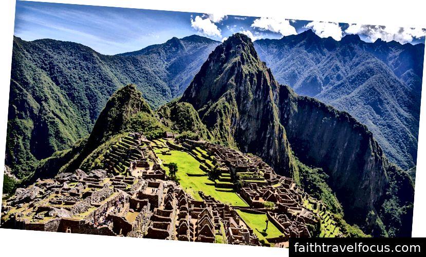 Machu Picchu, thành Incan