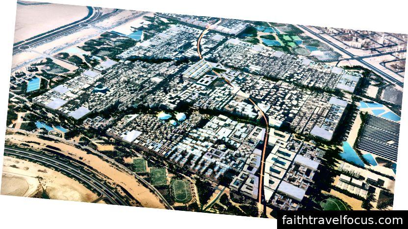 Thành phố Masdar © Foster + Partners 2014