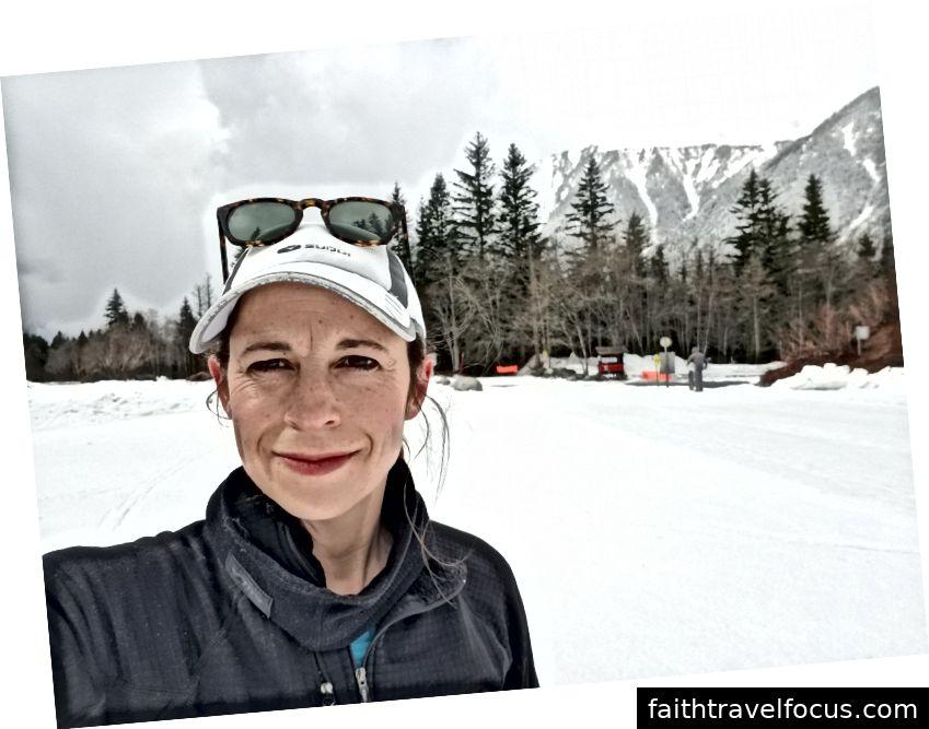 trượt tuyết buổi sáng của tôi!