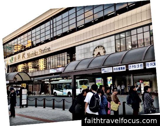 Đến ga Morioka!