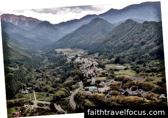 Phần thưởng từ góc nhìn của đỉnh Yamadera