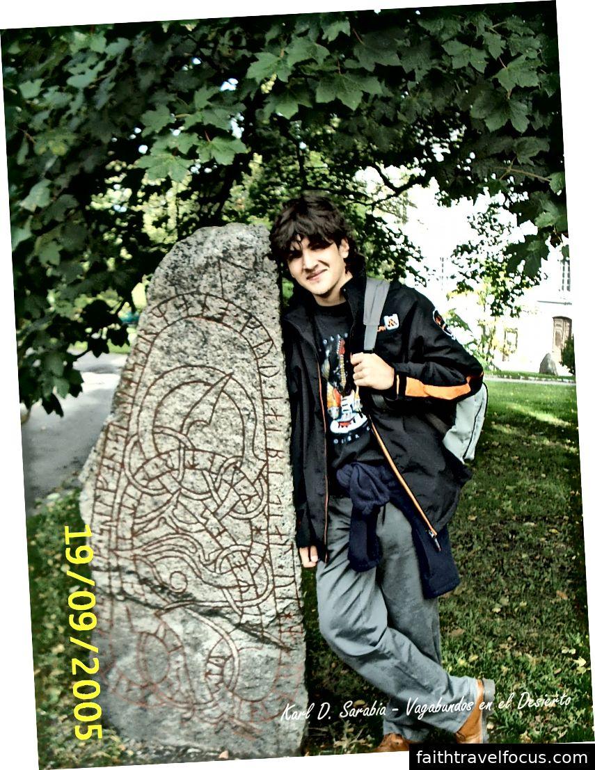 Một tôi hạnh phúc và trẻ trung ở tuổi 15 tại Thụy Điển.