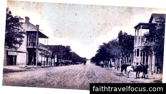 Phố chính Boerne, những năm 1890 (Được cung cấp bởi littlecolonels.com)