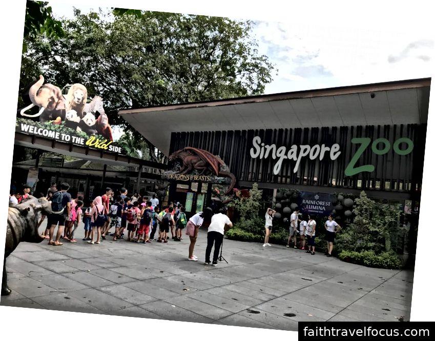 Lối vào sở thú Singapore