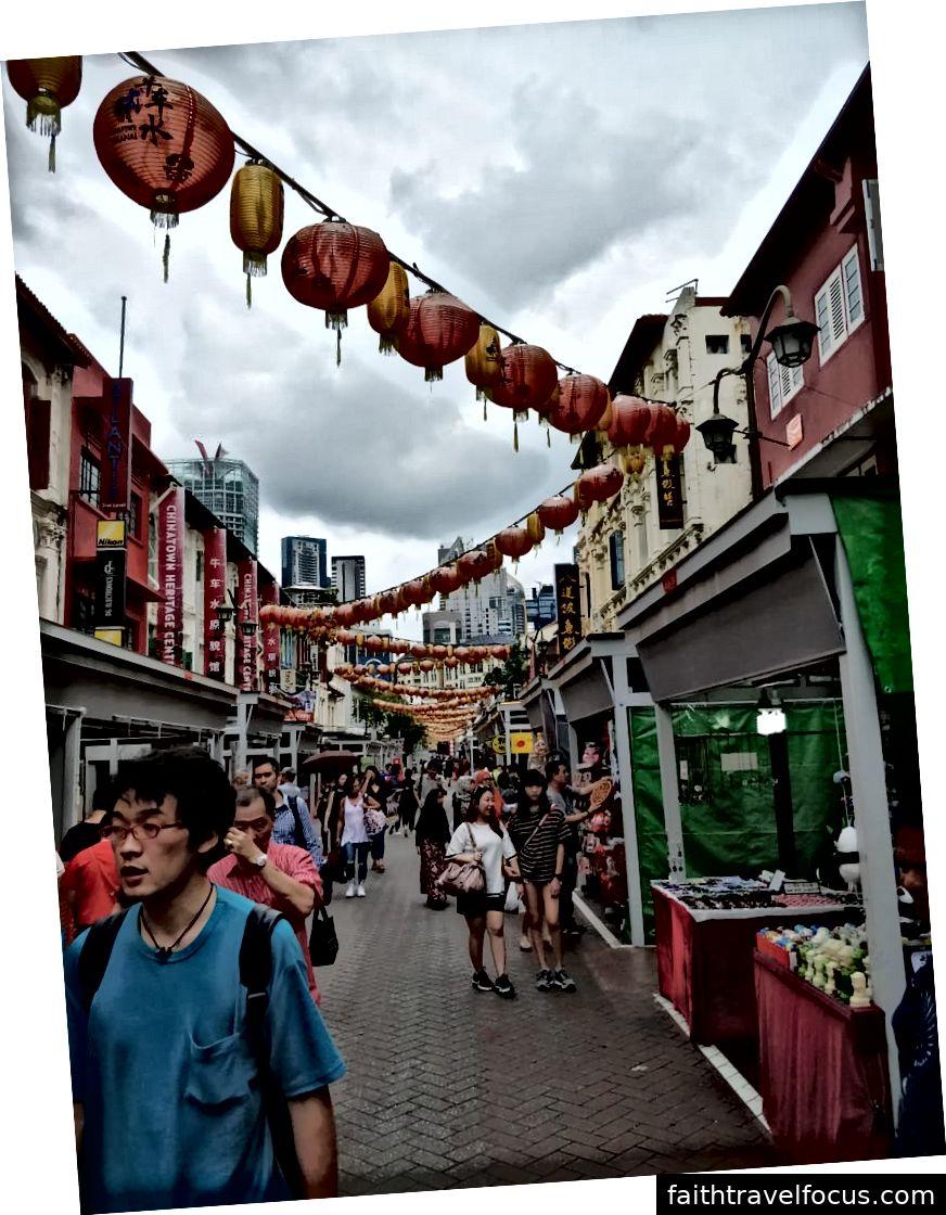 Phố chính tại China Town