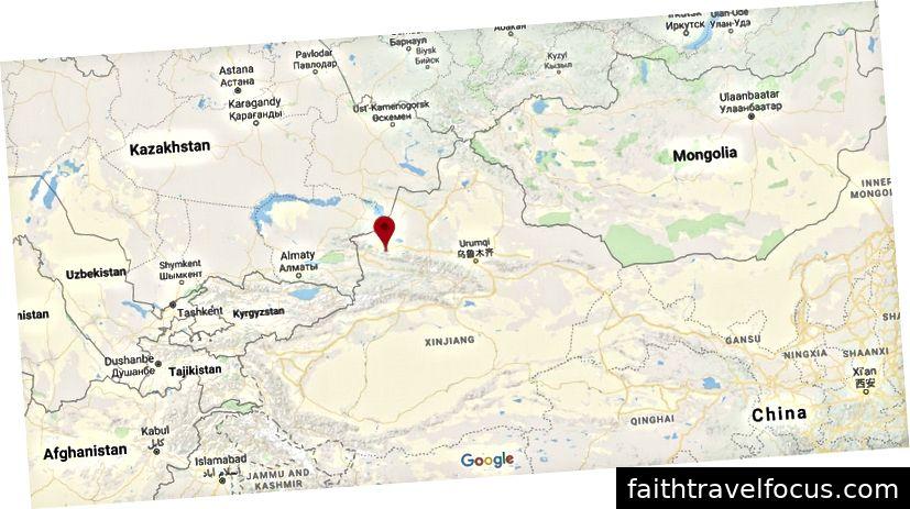 EPIA1 (44,29N 82,19E). Ảnh: Google Maps