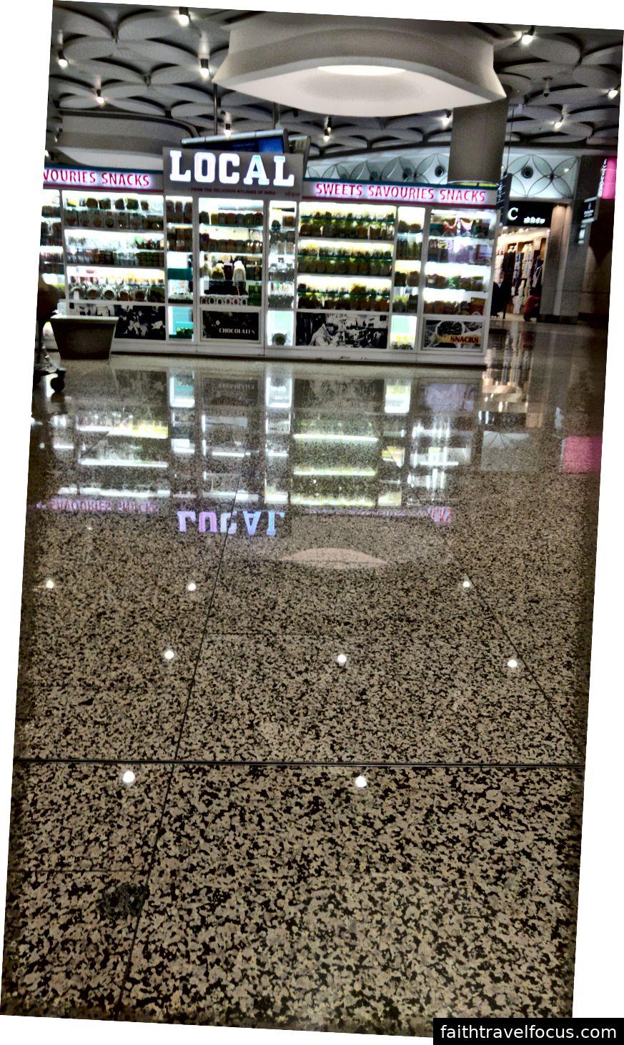 Cái nhìn thoáng qua qua sân bay Mumbai