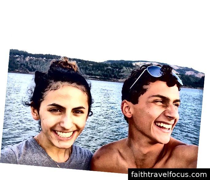 Maria và Chris Casciani
