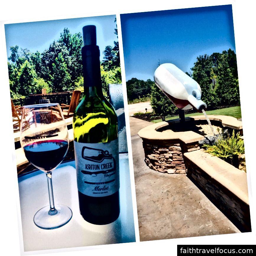 Xưởng rượu vang Ashton Creek, Chester, VA