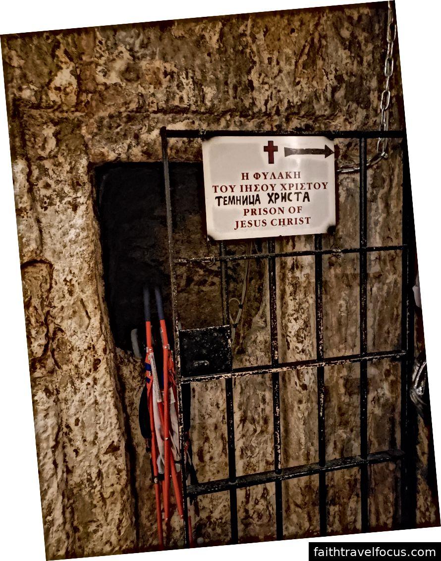 Một góc nhìn bên cạnh Cổng Jaffa, Thánh địa của Cột cờ, nhà tù giam giữ Jesus trước khi bị đóng đinh