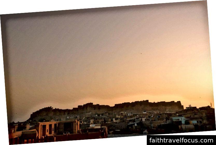 Đường chân trời Jaisalmer