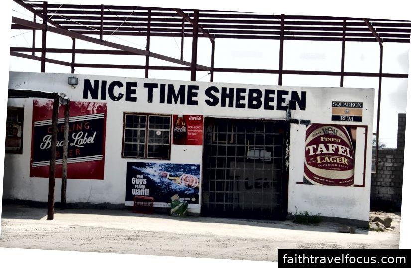 Shebeen ở Namibia - Họ nổi tiếng là những cái tên vĩ đại nhất.