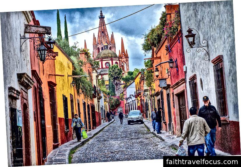 San Miguel de Allende, Mexico Ảnh: Linda Laino