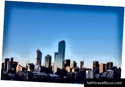 Đường chân trời phía tây Melbourne