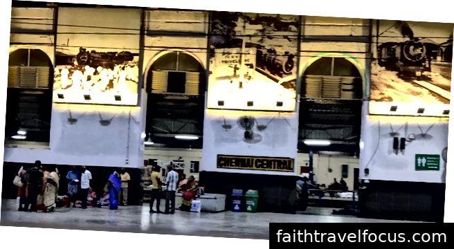 Ga xe lửa trung tâm Chennai