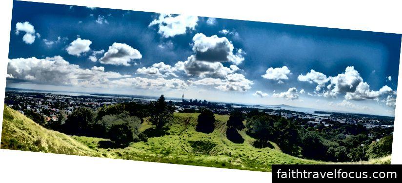 Toàn cảnh Auckland từ Núi Eden - Tất cả các bức ảnh được chụp bởi Dan Harris