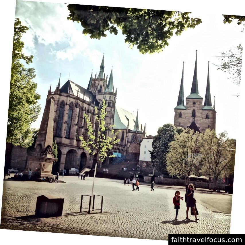 Erfurt, Đức (Ảnh của Pacha Hornaday)