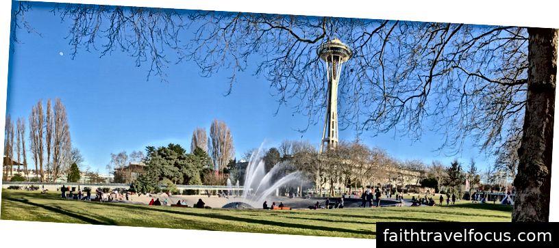 Chuyến thăm cuối cùng đến Trung tâm Seattle