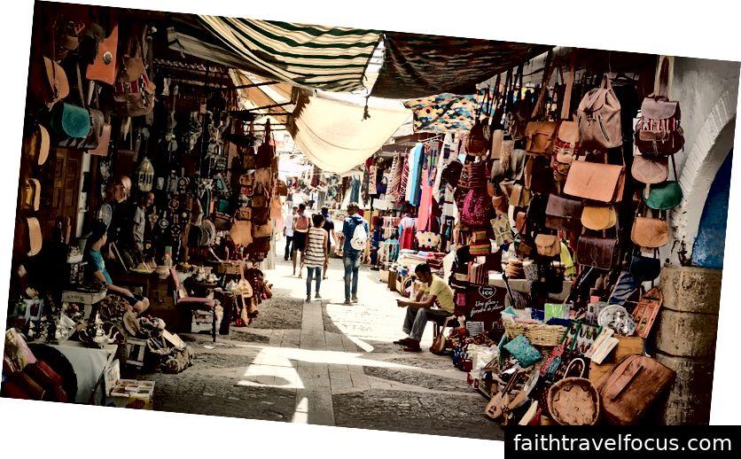 Chợ cổ Ma-rốc