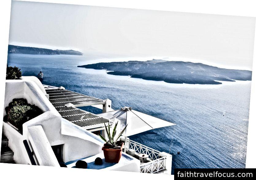 Biệt thự ở Santorini, Hy Lạp