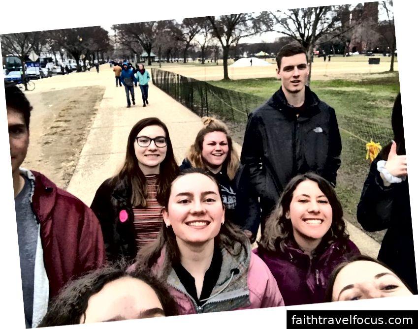 Đi bộ ở DC
