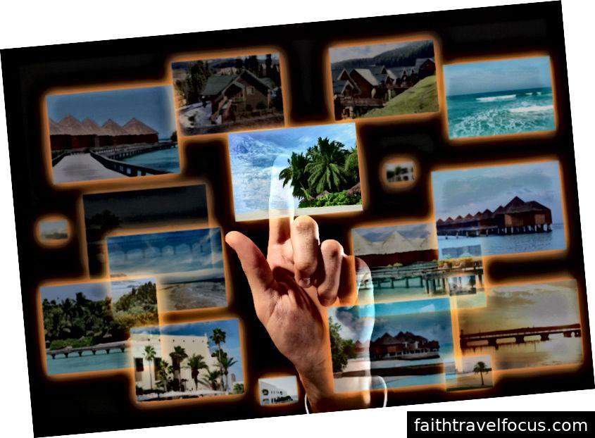 Lập kế hoạch du lịch trực tuyến