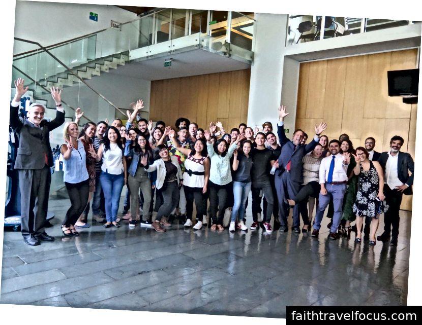 Ngày đón tiếp sinh viên nước ngoài của Đại học San Sebástian (Chile: 01/03/2018)