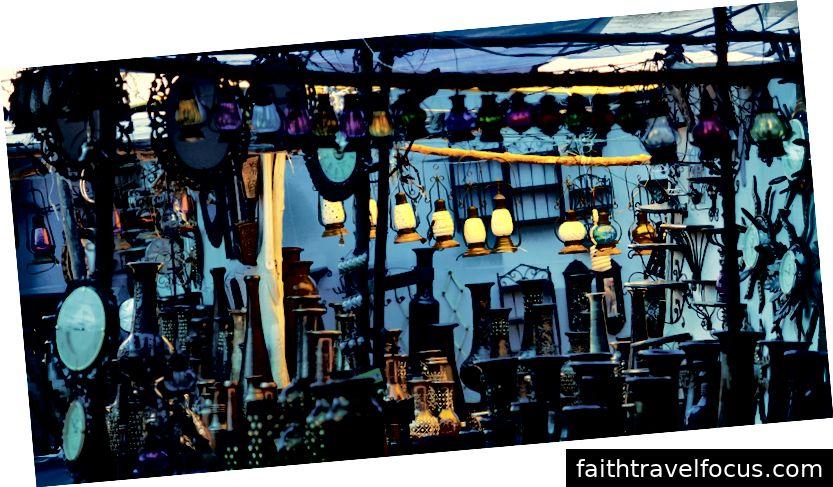 Chợ trời thứ tư tại Anjuna Beach