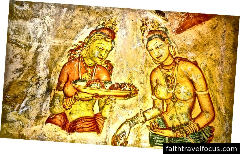 Không ai biết ngày chính xác của các bức bích họa nhưng chúng có thể từ thế kỷ thứ 5 và trong tình trạng đáng chú ý.