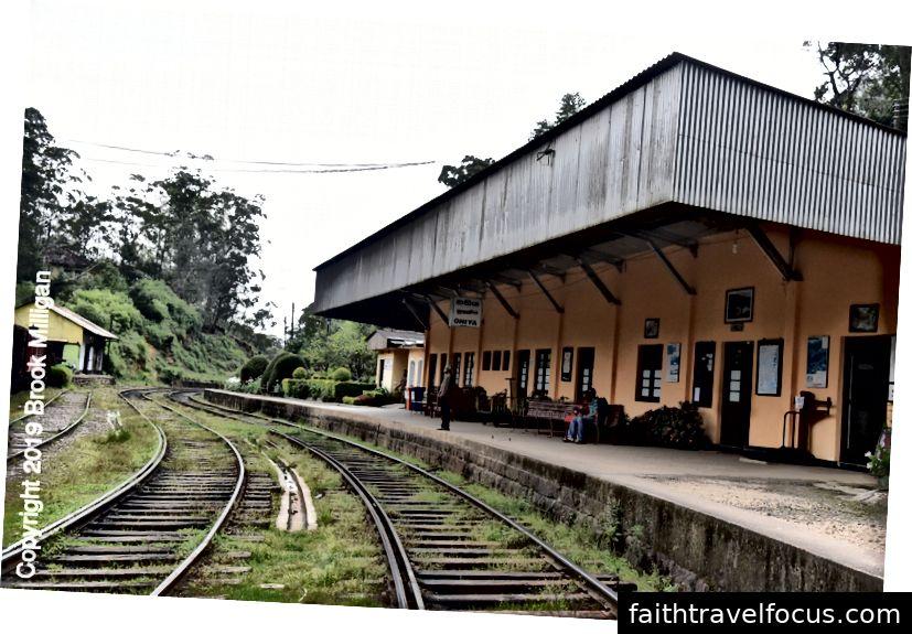 Ga xe lửa Ohiya nơi chúng tôi ra mắt
