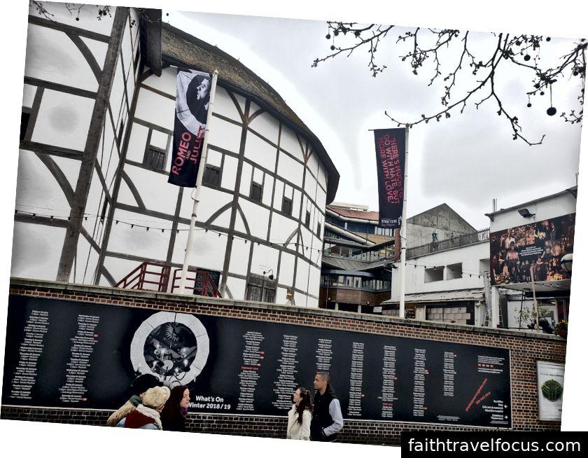 Quang cảnh từ The Shard, gelato, Shakespeare's Globe Theatre