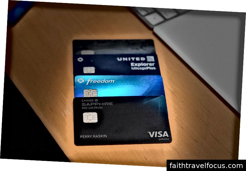 My Chase Quadinfa: Sapphire Reserve, Freedom, United Explorer, Business Ink Cash