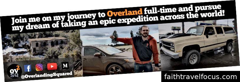 Nội dung mới hàng ngày và tập mới mỗi tuần trên Facebook, Instagram, Youtube: @OverlandingSquared