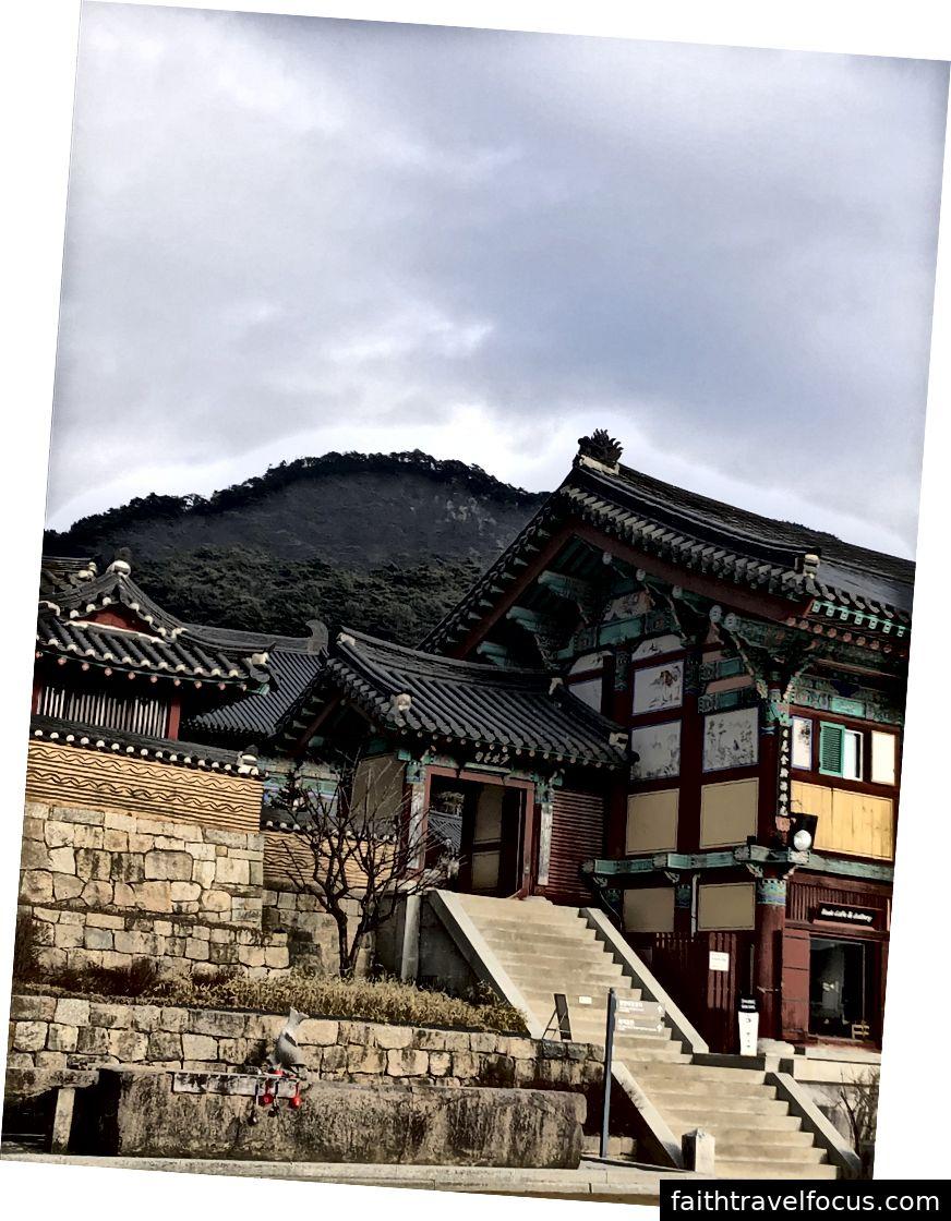 Đền Haeinsa ở Công viên Quốc gia Gayasan, Hàn Quốc