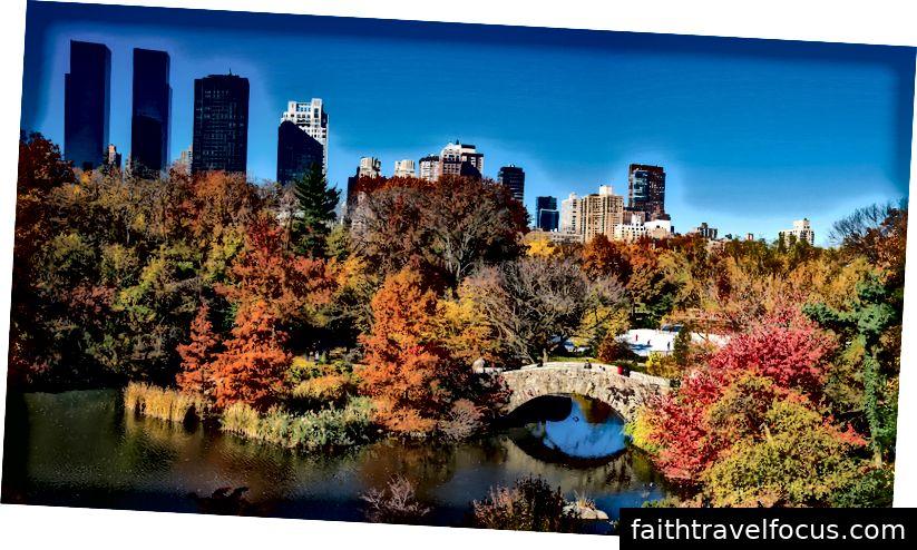Central Park van Quiz Viajero