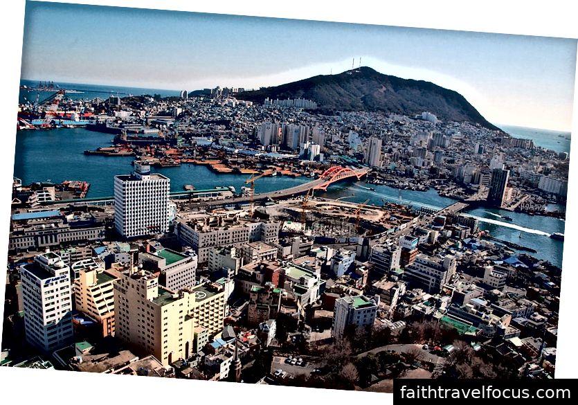 Busan City | Image Credit: by lwy, Korea-Busan-Busan Tower-01, CC BY 2.0