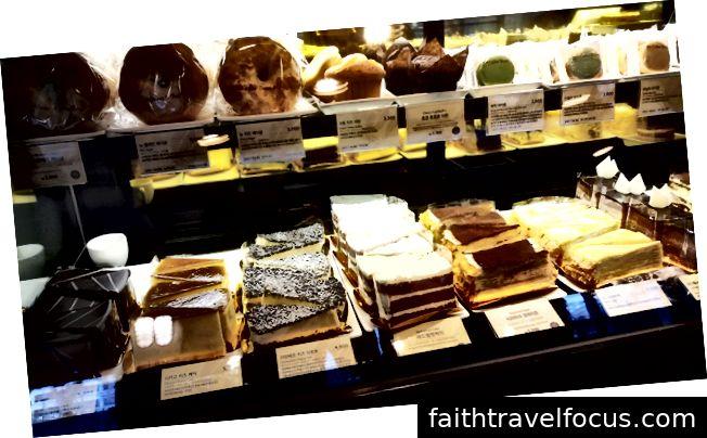 Kaker du finner på kaffebønner i Korea